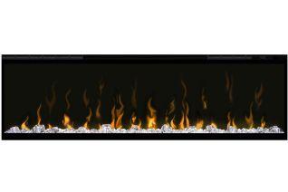 Длинные электрокамины фото встроенное барбекю на террасе дома